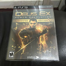 Deus Ex: Human Revolution (Augmented Edition) Playstation 3 PS3 BRAND NEW SEALED