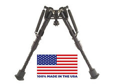 """HBRM Harris Bipod - Extends from 6"""" to 9"""" - Notched legs - 100% made in the USA"""