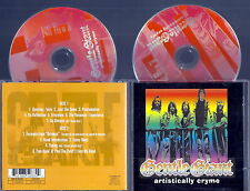 GENTLE GIANT Artistically Cryme (Live 1976) 2 Pictures CD Very RARE UK Import