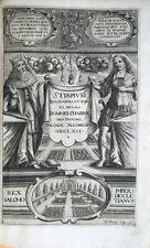 1677 DOMINIQUE CHABRÈE, STIRPIUM ICONES ET SCIAGRAPHIA, ERBARIO BOTANICA BOTANY