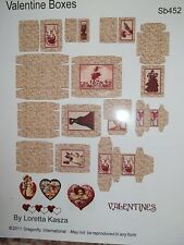 VALENTINE GIFT BOXES TO MAKE - - DRAGONFLY