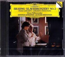Krystian ZIMERMAN BRAHMS Piano Concerto No.2 Leonard BERNSTEIN CD Klavierkonzert