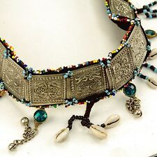 Afghan Tribal Bellydance Dangles BELT Turkoman 867q1
