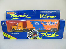 MATCHBOX CONVOY Kenworth Racing Team Transporter HARDEE'S 'DAYS OF THUNDER' MIB