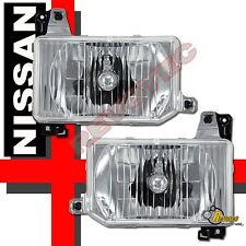 Chrome Headlights Lamps For 87-95 Nissan Pathfinder & 88-89 Hardbody Pickup