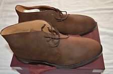 NIB George Cleverley Brown Roughout Desert Boots UK9/US10 $950
