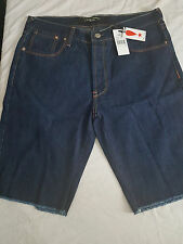 AUTHENTIC PUSHA T CLIPSE PLAY CLOTHS DENIM SHORTS JEANS 34 ICE CREAM