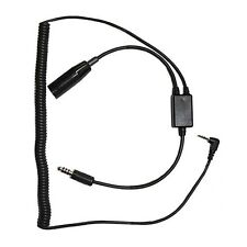 PilotUSA Digital Audio Recorder Headset Adapter for Helicopter PA-80H/Digital