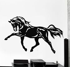 Wall Stickers Vinyl Decal Horse Racing Tribal Animal Nature Mural Art ig149