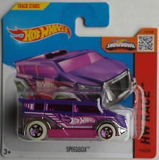 Hot Wheels - Speedbox violett/pink Neu/OVP