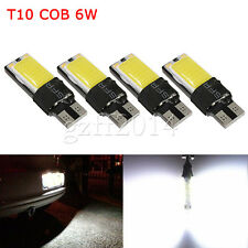 4XT10 W5W 194 168 White LED 6W No Error COB Canbus Side Lamp Wedge Light Bulb