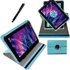 360° 6,95 Zoll Tablet Tasche für Medion E6912 MD 99851 E-Tab Schutz HülleTürkis