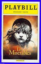 Playbill + Les Miserables + Lea Salonga, Doug Kreeger, Ben Crawford, Ali Ewoldt