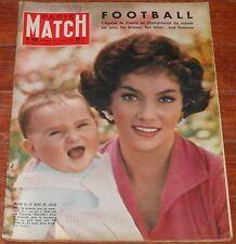 PARIS MATCH #480 1958 Gina Lollobrigida Romy Schneider Alain Delon Suzy Parker