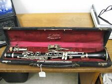 GOOD Eb SOPRANINO LEBLANC-NOBLET (Paris) CLARINET, no cracks, ALL new pads