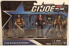 GI Joe 50th Anniversary THE EAGLE'S EDGE 3-Pack Action Figures Hasbro 2014