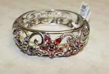 NWT BRIGHTON  BRACELET MULTI-COLORED SWAROVSKI CRYSTALS - set available!