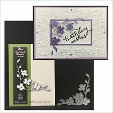 DOGWOOD BLOSSOM CORNER die - Poppystamps dies - 1446 - Flowers,leaves