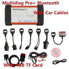 V2015.3 Bluetooth Multidiag Pro+ For Cars/Trucks And OBD2 + 4GB Card+Car Cables