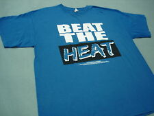 OKC THUNDER PLAYOFFS  BEAT THE HEAT Basketball T SHIRT XL 2013