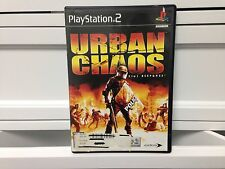 **URBAN CHAOS RIOT RESPONSE --- PLAYSTATION 2 PS2 w/ Original Box and Manual