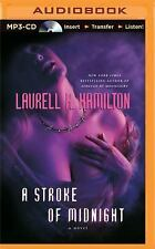 Meredith Gentry: A Stroke of Midnight 4 by Laurell K. Hamilton (2015, MP3 CD,...