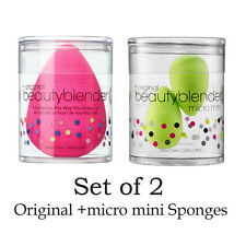Pro + Micro. Mini Beauty Sponges Blender Flawless Foundation Puff Make Up Sponge
