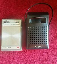 Aiwa AR-666 Vintage AM Pocket Radio Made in Japan