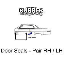 1967 1968 Oldsmobile Door Seals - 2 Door HT & Convertible