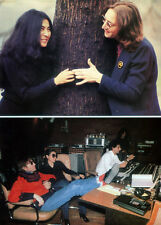 THE BEATLES POSTER PAGE . JOHN LENNON & YOKO ONO . M4