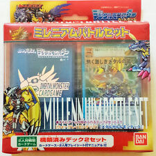 Rare Japanese Digimon Digi Battle Card Game Wargreymon Millennium Battle Set