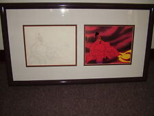 Disney's Aladdin TV - The Return of Jafar  -  Production cel + orig. drawing COA