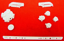 Tastenset Tastatur Tasten Button Set Weiß White für Sony PSP 1004 Classic Fat