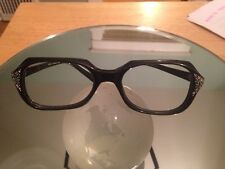 Vintage Lozza Glasses Frames- Very Cool & Rare! Black rimmed made in Italy Tart
