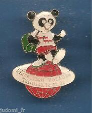 Pin's pin RARE PANDA  PROMOTION VOYAGES (ref L11)