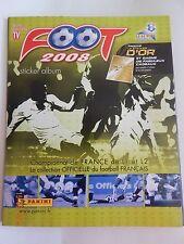 Lot de 8 vignettes panini FOOT 2008 à choisir
