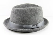 LADIES GREY HUMBURG STYLE HAT UNIQUE STATEMENT BRAND NEW (HT21)