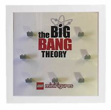 Lego Minifigure Display Case Picture Frame for Big Bang Theory minifigs