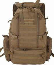 Assault 3-Day 72 Hours Survival Pack Backpack TAN COLOR Ultimate Tactical Pack