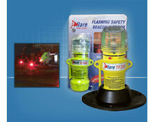 eFlare: Flashing Safety Beacon / torch with Mount