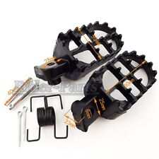 Footpegs Foot Pegs Rest For Pit Dirt Bike Honda XR50R CRF 50 CRF70 CRF80 CRF100F