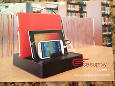 1752AA   BLK Charging Station MV-UNI-6 for all iPhones, iPads,all other devices
