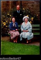 ORIGINAL 1985 British Royal Family Christmas Card Queen Elizabeth II signed