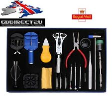 NEW 2017 UK Professional 20pcs Wrist Watch Repair Tool Kit Pin Hand Remover Set