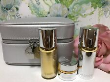 4 PC La Prairie Cellular Radiance Eye Cream, Fluid Pure Gold, Emulsion Spf30 Set