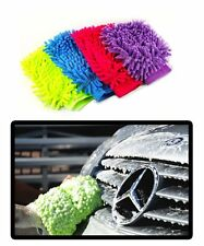 Zone Tech 2x Super Mitt Microfiber Car Wash Washing Cleaning Glove