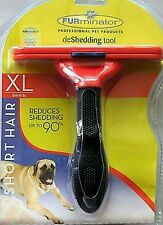 "FURminator deShedding Brush For Extra Large Dogs Short Hair Tool  XL 5"" Edge"