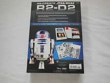 "Sterling Innovation Star Wars Re-Create BUILD R2-D2 PAPER CRAFT KIT 12""  NIOB"