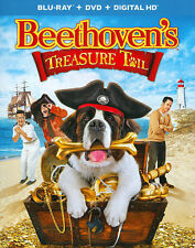 Beethoven's Treasure Tail (Blu-ray/DVD+Digital, 2014, 2-Disc Set) Brand New