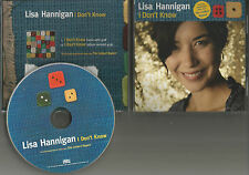 Damien Rice LISA HANNIGAN I don't know EDIT & Performance VIDEO PROMO CD single